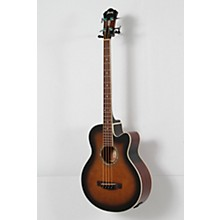 Ibanez AEB10E Acoustic-Electric Bass Guitar with Onboard Tuner