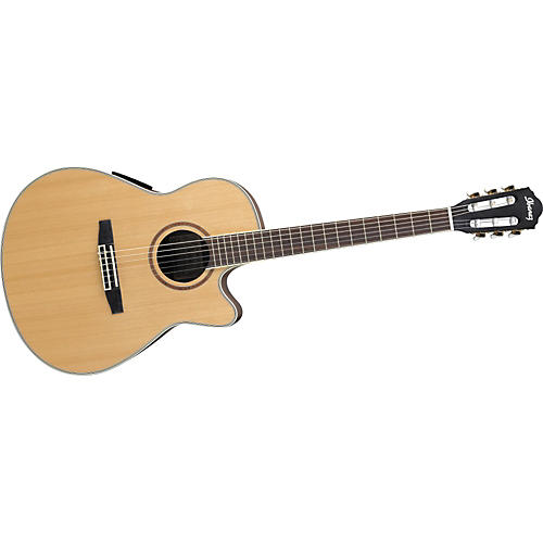 Ibanez AEF20CSNE Cutaway Classical Acoustic-Electric Guitar