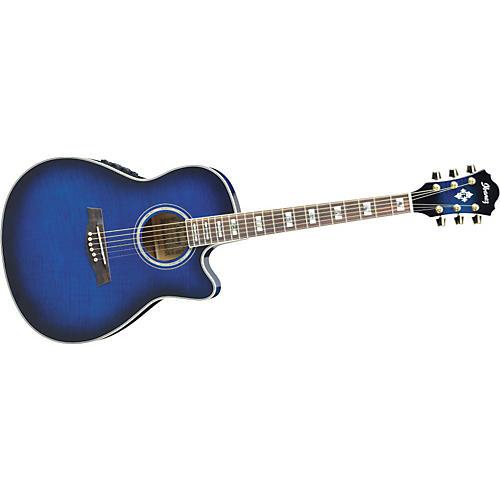 Ibanez AEF30E Cutaway Acoustic-Electric Guitar-thumbnail