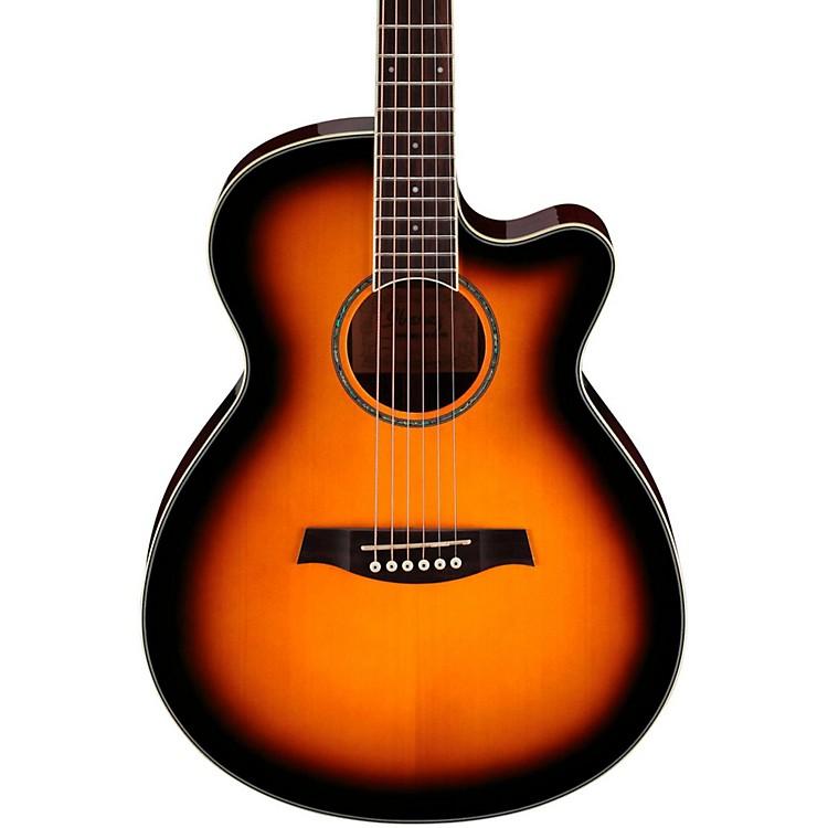 IbanezAEG10II Cutaway Acoustic-Electric GuitarVintage Sunburst