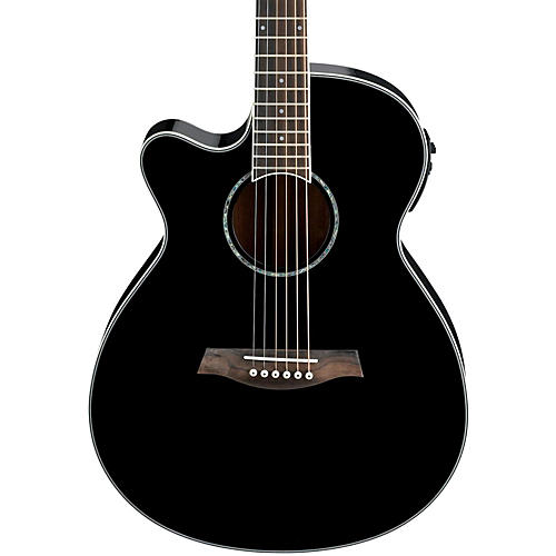 Ibanez AEG10LII Lefty Cutaway Acoustic-Electric Guitar-thumbnail