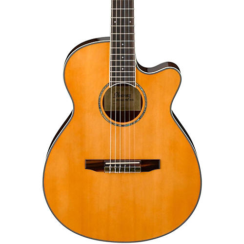 Ibanez AEG10NII Nylon String Cutaway Acoustic-Electric Guitar