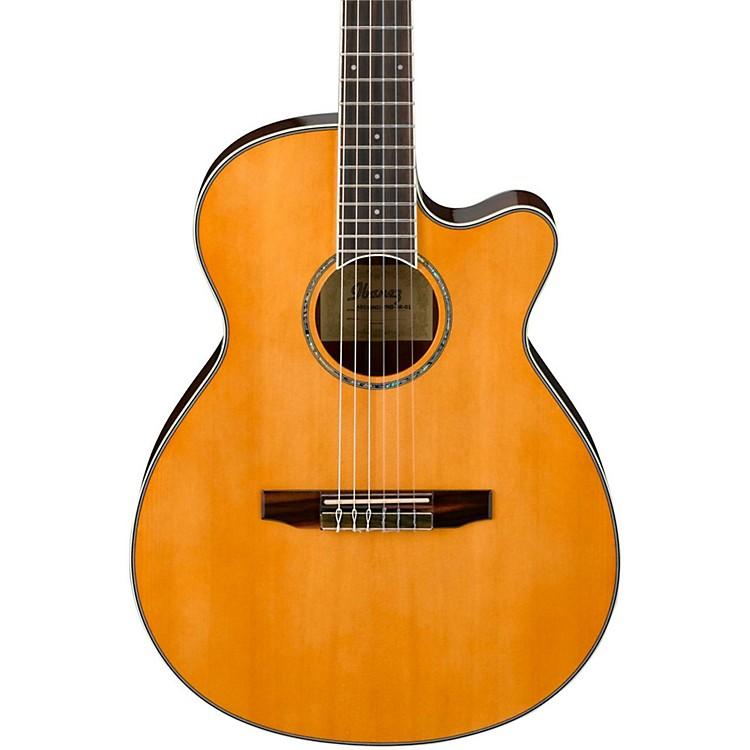 IbanezAEG10NII Nylon String Cutaway Acoustic-Electric Guitar
