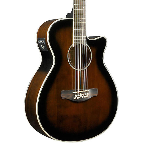 ibanez aeg1812ii aeg 12 string acoustic electric guitar dark violin sunburst musician 39 s friend. Black Bedroom Furniture Sets. Home Design Ideas
