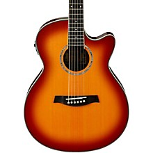 Ibanez AEG18II Cutaway Acoustic Electric Guitar Level 1 Antique Violin Sunburst