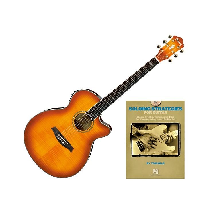IbanezAEG20II Acoustic Guitar BundleVintage Violin