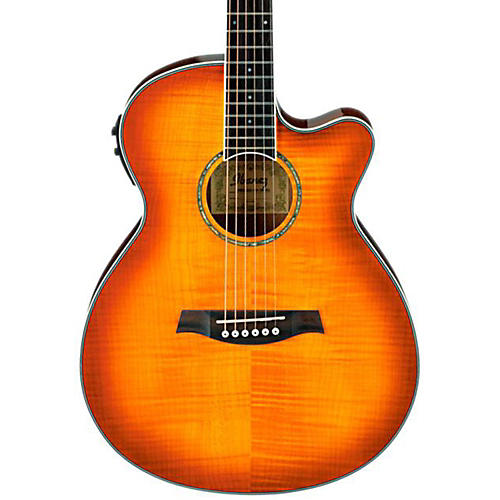 Ibanez AEG20II Flamed Sycamore Top Cutaway Acoustic-Electric Guitar-thumbnail