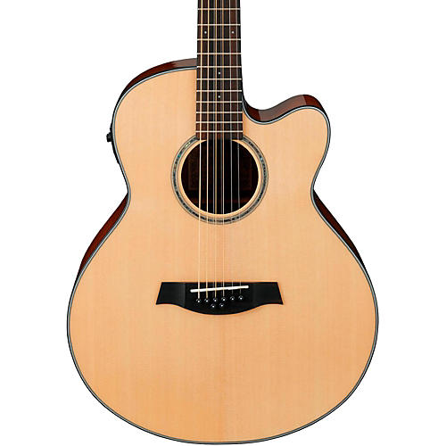 Ibanez AEL108MD-NT 8-String (Doubled Octave G&D) Acoustic-Electric Guitar-thumbnail