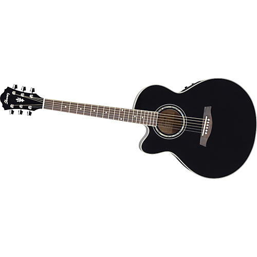 ibanez ael10le left handed acoustic electric guitar with onboard tuner musician 39 s friend. Black Bedroom Furniture Sets. Home Design Ideas