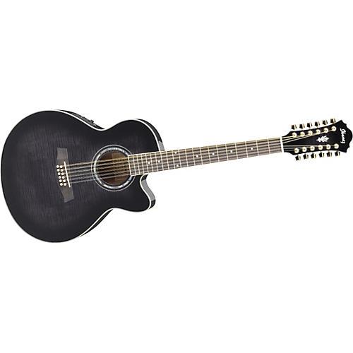 ibanez ael2012etks 12 string cutaway acoustic electric guitar musician 39 s friend. Black Bedroom Furniture Sets. Home Design Ideas