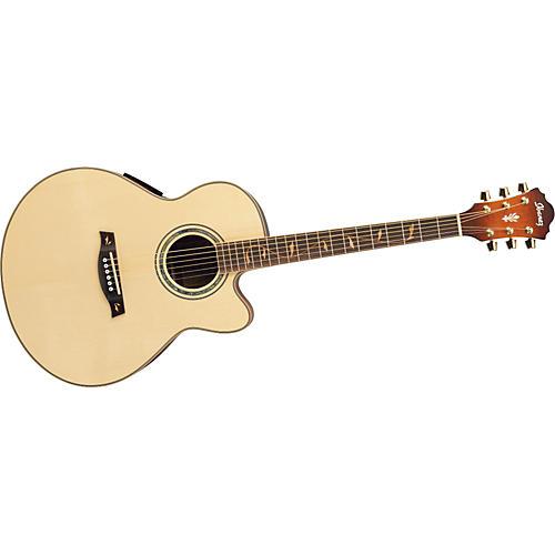 Ibanez AEL50SERLV Cutaway Acoustic-Electric Guitar
