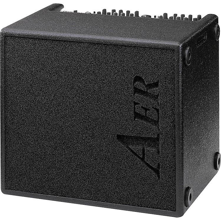 AER AER Domino 2A 100W 2x8 Acoustic Guitar Combo Amp Black