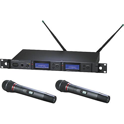 Audio-Technica AEW-5266 Artist Elite Dual Receiver Hypercardioid Dynamic Mic System-thumbnail
