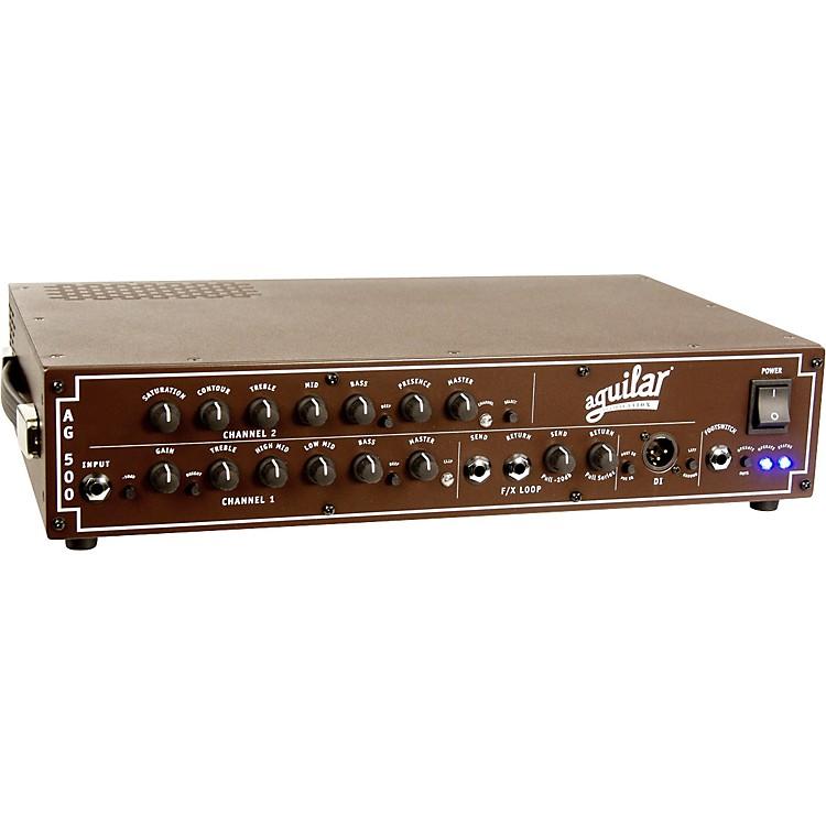 AguilarAG 500 Dual Channel Bass Head