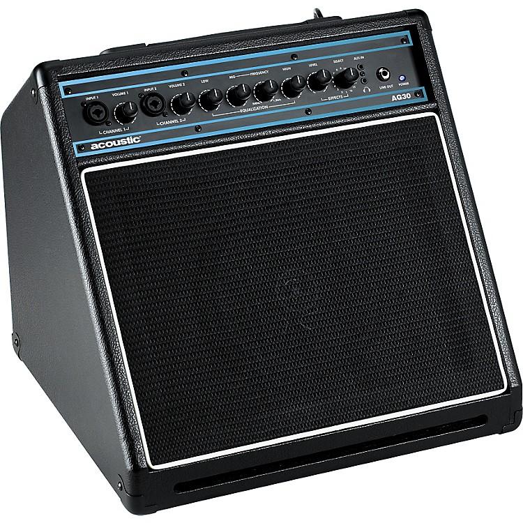 AcousticAG30 30W 1x8 Acoustic Guitar Combo AmpBlack