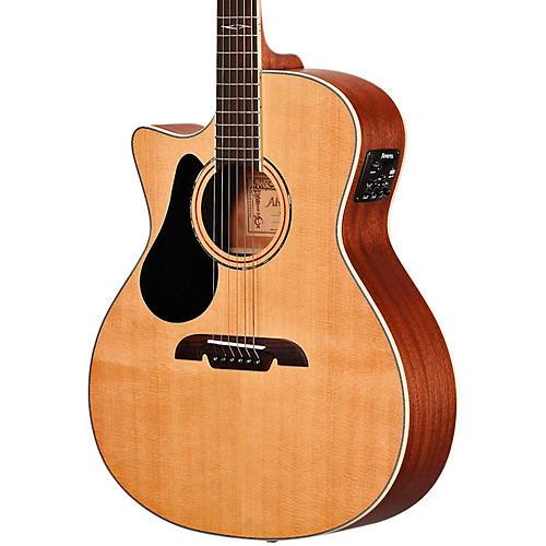 Alvarez AG60LCE Grand Auditorium Left Handed Acoustic-Electric Guitar-thumbnail