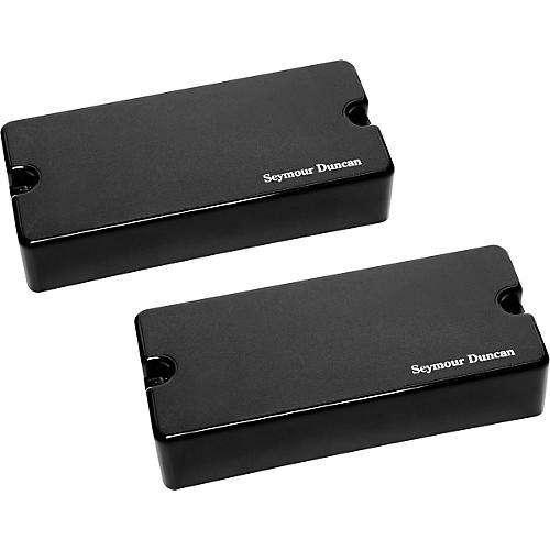 Seymour Duncan AHB-1s 8-String Blackouts Neck and Bridge Set Black