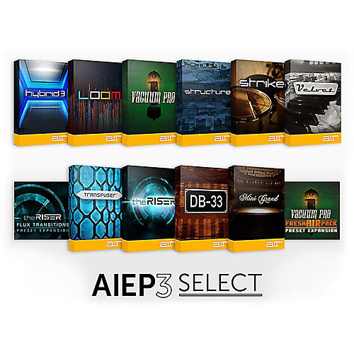 Air Music Tech AIEP3 Select Instrument Pack-thumbnail