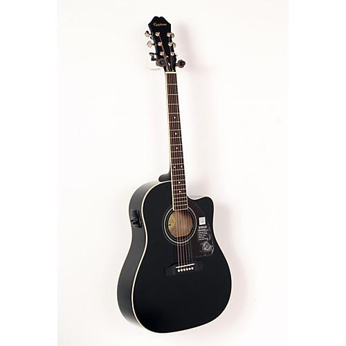 Epiphone AJ-220SCE Acoustic-Electric Guitar Ebony 888365651040