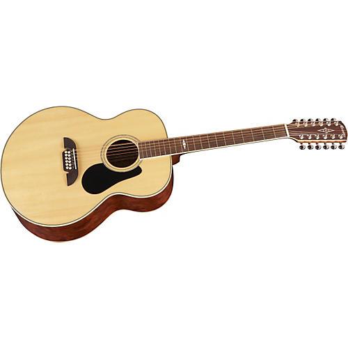 Alvarez AJ417-12 Artist Jumbo 12 String Acoustic Guitar-thumbnail