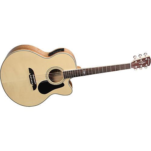 Alvarez AJ418C Artist Cutaway Jumbo Acoustic-Electric Guitar with System 600 Mk II-thumbnail