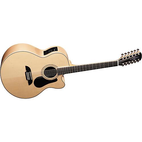 Alvarez AJ60SC12 Artist Series Jumbo 12-String Cutaway Acoustic-Electric Guitar-thumbnail