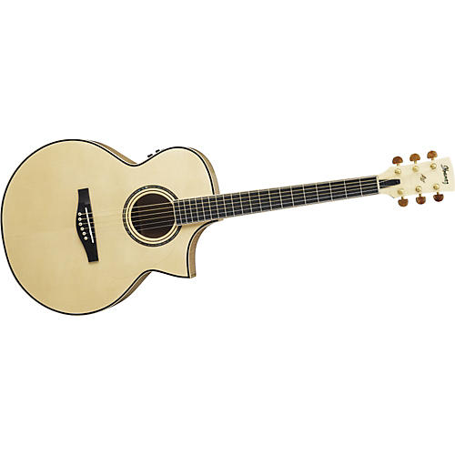Ibanez AJS1180ECENT Artwood Series Jumbo Cutaway Acoustic–Electric Guitar