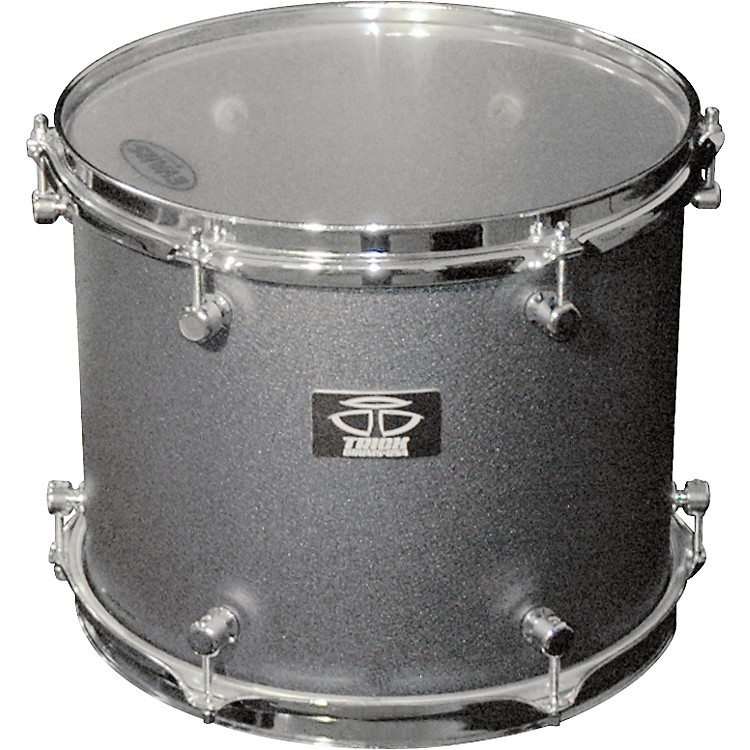 Trick Drums AL13 Tom Drum 10X12 Black Cast