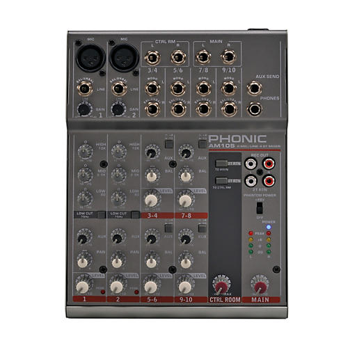 Phonic AM 105 Compact Mixer