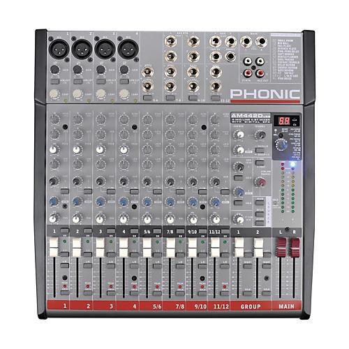 Phonic AM 442D USB Mixer with USB Interface-thumbnail