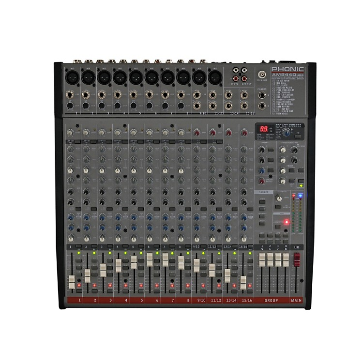 PhonicAM 844D Mixer with USB Interface