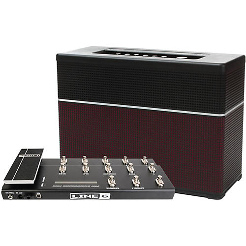 Line 6 AMPLIFi 150 150W Modeling Guitar Combo with FBV Shortboard Footswitch-thumbnail