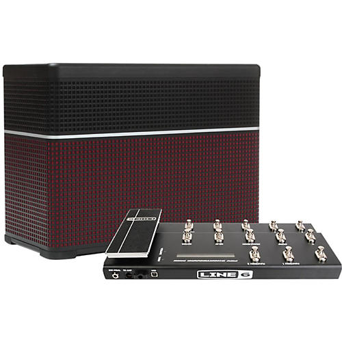 Line 6 AMPLIFi 75 75W Modeling Guitar Combo with FBV Shortboard Footswitch
