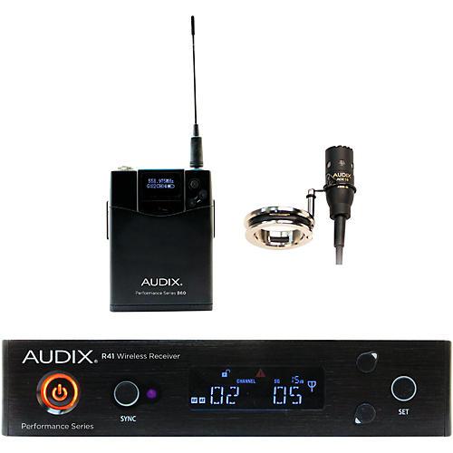 Audix AP41 FLUTE Lavalier Wireless System 554-586 MHz
