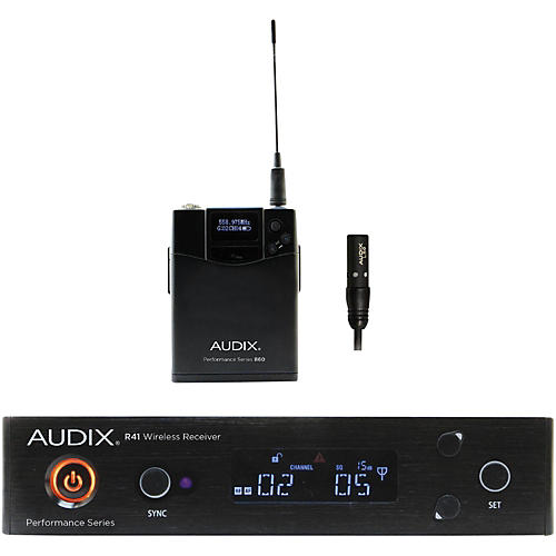 Audix AP41 L5O Lavalier Wireless System 554-586 MHz