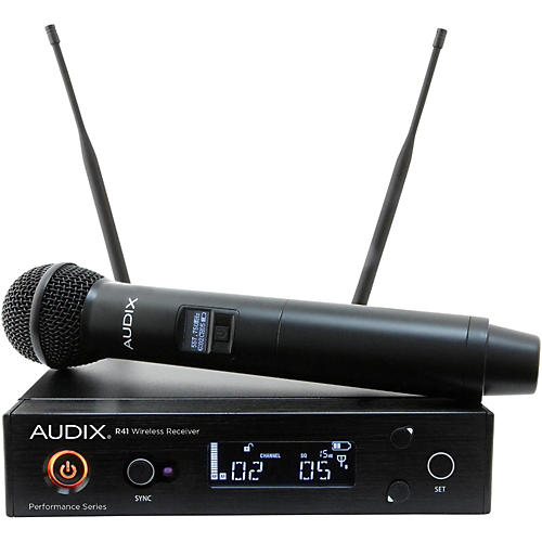 Audix AP41 OM2 Handheld Wireless System 518-554 MHz