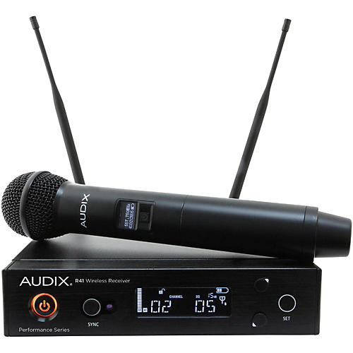 Audix AP41 OM5 Handheld Wireless System 518-554 MHz