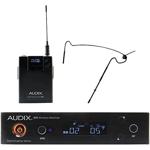 Audix AP41HT5 Headset Wireless system w/ HT5 Omni Condenser mic - Black 554-586 MHz Black