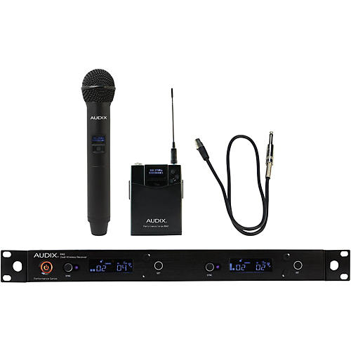 Audix AP42 C2GTR Handheld and Instrument Wireless System-thumbnail