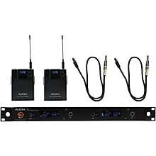 Audix AP42 Dual GUITAR Instrument Wireless System