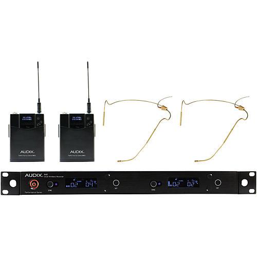 Audix AP42 HT5BG Dual Headset Wireless System - Beige-thumbnail