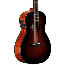 Open Box Alvarez AP66ESHB Parlor Acoustic-Electric Guitar