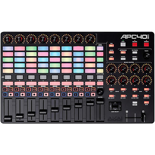 akai professional apc40 mkii ableton live controller musician 39 s friend. Black Bedroom Furniture Sets. Home Design Ideas
