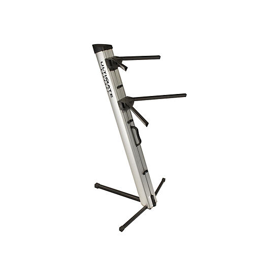 Ultimate Support APEX AX-48 Pro Keyboard Stand - Silver Silver