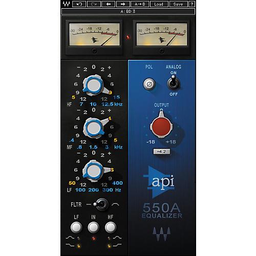 Waves API 550A Native