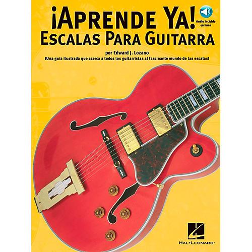 Music Sales APRENDE YA! - A TOCAR ESCALAS PARA GUITARRA BOOK/CD