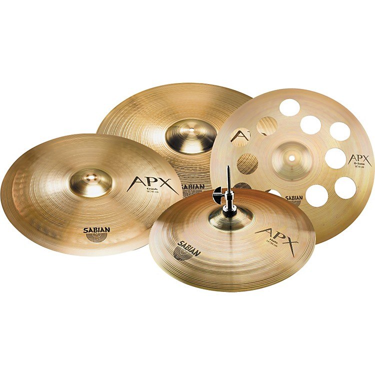 Sabian APX Performance Cymbal Set with Free 16