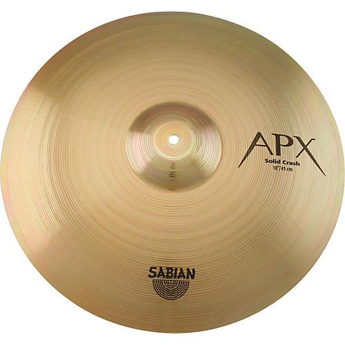 Sabian APX Solid Crash Cymbal