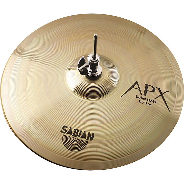 sabian apx solid hi hat cymbal pair 13 in musician 39 s friend