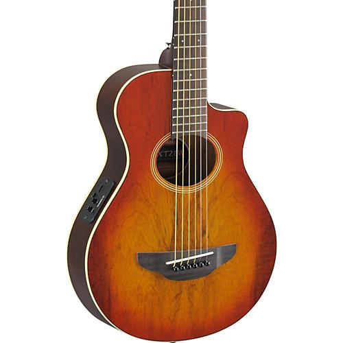 Yamaha APX Thinline 3/4 size Acoustic-Electic Guitar Light Amber Burst